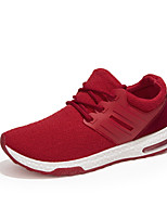 Men's Sneakers Spring / Summer / Fall / Winter Comfort Fabric Casual Flat Heel Black / Blue / Red / Gray Walking