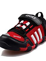 Unisex-Sneaker-Sportlich-Tüll-Flacher Absatz-Komfort-Schwarz / Blau / Rot