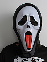 Halloween Mask e Horrible Makeup Cosplay Costume Party Decoration