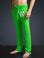 LOVEBANANA® Masculino Activo Calças Verde-34073