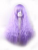 fil haute température cos couleur gradient maïs harajuku chaud longue perruque de cheveux bouclés