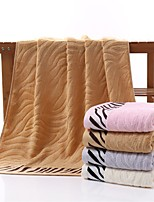 1 PC Bamboo Fiber Bath Towel 27 by 55 inch Tiger Skin Pattern Anti-microbico