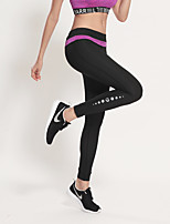 Laufen Strumpfhosen/Lange Radhose / Unten Damen Atmungsaktiv / Videokompression / Schweißableitend / Komfortabel PolyesterYoga / Übung &