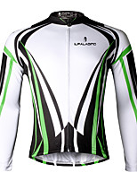 PALADIN® Cycling Jersey Men's Long Sleeve BikeBreathable / Quick Dry / Ultraviolet Resistant / Reduces Chafing / Compression /