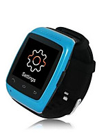 Blue Bluetooth Handsfree Smart Watch