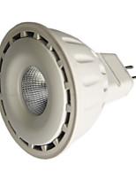 8W GU5.3(MR16) LED Spotlight MR16 1 COB 550 lm Warm White / Cool White Dimmable DC 12 V 1 pcs