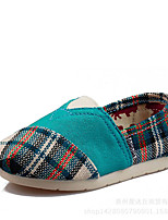 Boy's Loafers & Slip-Ons Spring / Summer / Fall / Winter Comfort Canvas Casual Flat Heel Split Joint