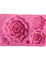 3D Big Rose Flower Cake Mold  SM-460
