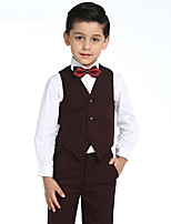Baby Boys Clothing Set Cotton Boys ShirtsPants BowVest Suit Set