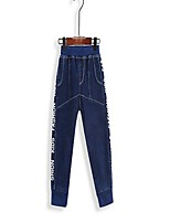 Boy's Casual/Daily Print Pants / JeansCotton Spring / Fall Blue