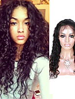 Peruvian Human Hair Lace Front Wigs With Baby Hair Loose Curly Lace Front Human Hair Wigs Free Part Lace Wigs