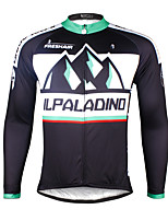 PALADIN® Cycling Jersey Men's Long Sleeve BikeBreathable / Quick Dry / Ultraviolet Resistant / Compression / Lightweight Materials /