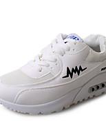 Da donna-Sneakers-Tempo libero / Formale / Casual / Sportivo-Comoda / Punta arrotondata / Ballerine-Piatto-Tulle / Finta pelle-Viola /