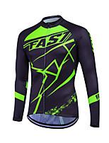 Esportivo Moto/Ciclismo Pulôver / Camisa/Fietsshirt / Blusas Mulheres / Homens / Unissexo Manga CompridaRespirável / Secagem Rápida /