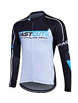 Sportivo® Maglia da ciclismo Per uomo Maniche lunghe Traspirante / Comodo / Materiali leggeri / Tasca posteriore Bicicletta