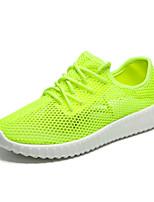 Women's Sneakers Spring / Fall Comfort Tulle Casual Flat Heel  Green / Pink / Gray Sneaker