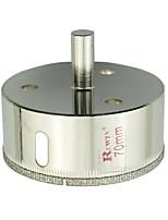 Rewin стеклянные отверстия инструмента сплава стали нож отверстие размер 70мм-2шт / коробка