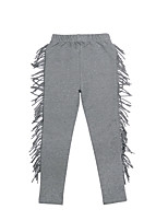 Girl's Casual/Daily Solid Pants / LeggingsCotton / Spandex Winter / Spring / Fall Gray