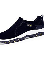 Men's Sneakers Spring / Fall Comfort Fabric Casual Flat Heel Slip-on Black / Blue / Yellow / Gray Sneaker