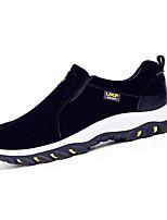 Herren-Sneaker-Lässig-Stoff-Flacher Absatz-Komfort-Schwarz Blau Gelb Grau