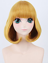Fashion Short Wig Blonde Color Cosplay Synthetic Wigs
