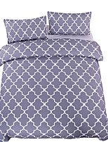 Gray Bedding Rhombic Plain Printed Bed Cover for Living Room Bedspreads Super Soft Twin Full Queen King Bed Linen