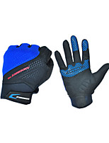 Activity/ Sports Gloves Cycling/Bike Unisex Full-finger Gloves Summer Black / Blue