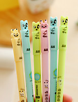 10 PCS Rabbit and Dog Blue Ink Gel Pen