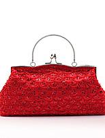 L.west Women Elegant High-grade Retro Beaded Embroidery Evening Bag