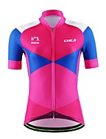 Sports® Cycling Jersey Women's / Men's / Unisex Short Sleeve Breathable / Quick Dry / Moisture Permeability / Back Pocket / Sweat-wicking