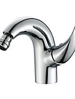 PHASAT Chrome Finish Solid Brass Bidet Faucet