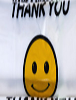 5 Bags Of The Smiling Faces Of The Transparent Bag Vest Bag