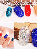 500pcs Nails DIY Rhinestones Micro Diamond Crystal 3D Nail Art Decoration Tiny Mini Pixie Rhinestone