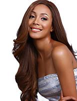 модно сладкий долго длина волос естественная волна парики из синтетических волос