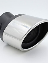 Automobile Exhaust Pipe Tail Throat Modified Stainless Steel Muffler Special Stern Tube