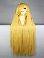 Death Hirako True Son Of Anime Golden Long Straight Anime Wigs