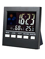 Weather Station Alarm color electronic clock thermometer hygrometer  SN192
