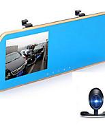 Завод-производитель комплектного оборудования 4,3 дюйма Allwinner / novatek TF карта Черный Автомобиль камера