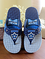 Men's Slippers & Flip-Flops Summer Slingback PVC Casual Flat Heel Others Blue / Almond Others