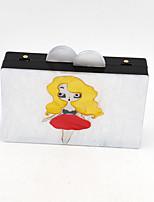 Damen Plastik Alltag Unterarmtaschen