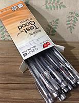 12 pcs caneta gel negócios