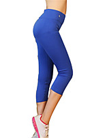 Women's Elastic Quick Dry Sports Pants Fitness Running Leggings