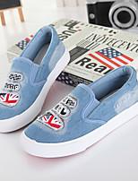 Jungen-Flache Schuhe-Outddor-Leinwand-Flacher Absatz-Flache Schuhe-Blau