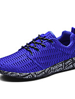 Unisex Sneakers Spring / Fall Comfort Leather / Outdoor / Athletic / Casual  Lace-up Black / BlueTennis / Walking /