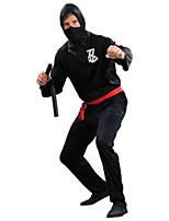 Costumes Plus de costumes Halloween / Fête d'Octobre Noir Couleur Pleine Térylène Collant/Combinaison / Plus d'accessoires