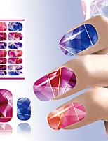 красота искусства ногтя цветной яркий кристалл дизайн ногтей стикер переноса воды Manicure искусства декора инструменты