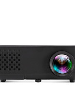 a810 Black LCD Projetor para Home Theater WVGA (800x480) 600Lumens LED 4:3/4:3