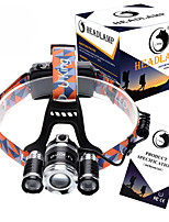 U`King ZQ-X826 XM-L T6 Adjustable Focus /Retractable High Power Headlamp LED 8500ML 18650