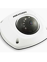 Hikvision DS-2cd2512f-i 1.3MP mini-ip câmera de rede dome (alarme sonoro IP66 i / o poe)