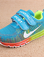 Boy's Sneakers Fall Comfort / Round Toe Tulle Casual Flat Heel Others Blue / Pink Others